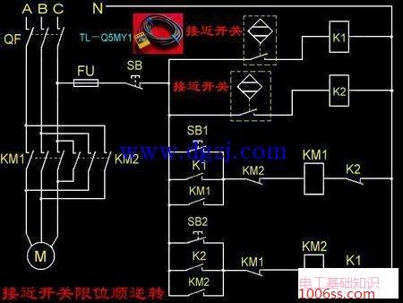桥式全波整流滤波_电容式接近开关限位接线图_电工基础知识_电工技术-电工最常见电路