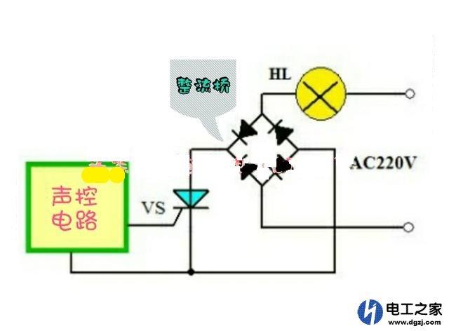 声光控灯头怎么接线_声光控灯座接上一个普通LED灯泡不亮是什么原因_电工基础知识 ...