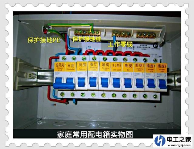 地插座如何安装_家里电路跳闸如何检查处理_电工基础知识_电工技术-电工最常见电路
